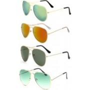 SRPM Round Sunglasses(Green, Red, Yellow)