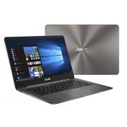 Asus ZenBook 14 Delgado y ligero portátil 14 pulgadas Full HD WideView, 8 generación Core i7-8550U, 16GB DDR3, 512GB SSD, KB retroiluminado, lector de huellas dactilares, gris, Windows 10 Home UX430UA-DH74