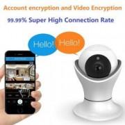 Camera de supraveghere IP WIFI cu microfon vizualizare 3d 2MP 1080P cu rotatie din telefon senzor de miscare alarma