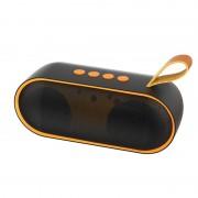 Преносима Bluetooth колонка Dudao оранжев (Y9 оранжев)