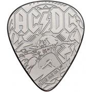 AC/DC Guitar Pick - Plug Münze-silberfarben - Offizielles Merchandise Onesize Unisex