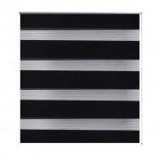 Zebra Blind 120 x 175 cm Black