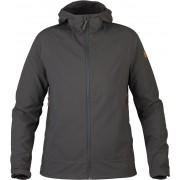 FjallRaven Abisko Hybrid Breeze Jacket W - Dark Grey - Softshell Jacckets XL