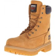 """Timberland Pro Men's Direct Attach 8"""" Steel Toe Boot,Wheat,13 W"""