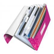 Mapa tip Proiect LEITZ Wow, PP - roz metalizat