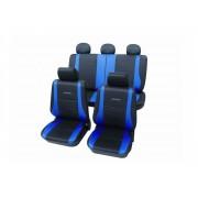 PETEX Stoelhoezen universeel polyester blauw PETEX /