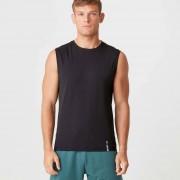 Myprotein Luxe Classic Sleeveless T-Shirt - XXL - Svart