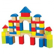 Hape - Maple Block Set- 50 Pieces