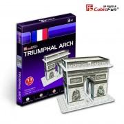 Puzzle 3D CubicFun CBFA Arcul de Triumf