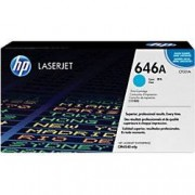 HP 646A Original Toner Cartridge CF031A Cyan