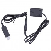 AC adapter USB ACK-PW20 coupler DR-PW20 NP-FW50 replace Sony