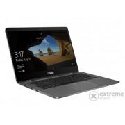 "Laptop Asus ZenBook UX461UN-E1016T 14"" Win10, layout tastatura HU, gri"