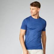 Myprotein Sculpt bezešvé tričko - Tmavě modrá - XXL - Marine