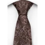 Notch Slips i Siden - Blommönster i olika bruna toner - Notch GROUCHO
