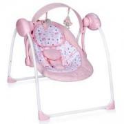 Бебешка електрическа люлка Lorelli Portofino, розова, 0747041