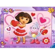 Puzzle Ravensburger - Dora, 35 piese (06611)