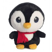 Cute Stuffed Embroidered Eyes Baby Penguin Plush Animal Soft Toy