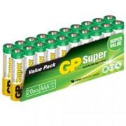 Gp Batteries Set 20 Batterie AAA Mini Stilo GP Super