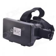 """Realidad Virtual 3D vidrios video w / NFC para 3.5 ~ 5.7 """"Telefono - Negro"""