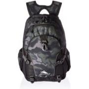 High Sierra LOOP DAYPACK KAMO/BLACK/SLATE Waterproof Backpack(Grey, 33 L)