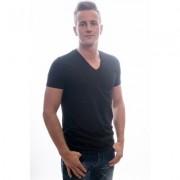 Garage T-Shirt Regular Fit V-Neck Black Two Pack ( 0104) - Zwart - Size: 3X-Large
