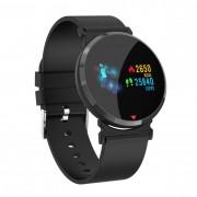 Bratara fitness smart RegalSmart F18-285, ritm cardiac, tensiunea arteriala, OLED, Android, IOS