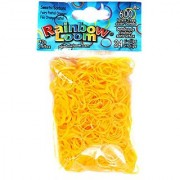 Rainbow Loom Sweets Fairy Pastel Orange Rubber Bands with 24 C-Clips (600 Count)