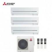 Mitsubishi CLIMATIZZATORE CONDIZIONATORE MITSUBISHI ELECTRIC TRIAL SPLIT 9+12+12 INVERTER SERIE SF 9000+12000+12000 CON MXZ-3E68VA NEW