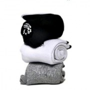 Manan fashion Unisex Ankle towel Socks - Pack of 3