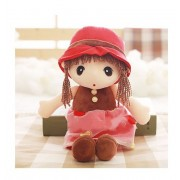 45cm cute cartoon girl baby Angela doll plush toys Stuffy dolls for girls