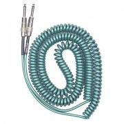 Lava Cable Retro Coil 6,6m Green Cable instrumentos