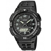 Ceas barbatesc Casio AQ-S800W-1BVEF Collection Solar Cronograf 10 ATM 42 mm