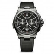 Victorinox 241731 Night Vision Chronograph Black Ice Pvd...