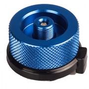 Futaba Stove Connector Gas Bottle Adaptor Burner - Blue