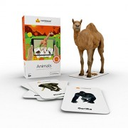 Cardskool Animals Augmented Reality Learning Flash Cards - iOS & Android (52 Animal Cards)