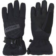 Spyder Boy's Glove Overweb black/polar