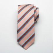 Men's silk striped tie Fine Selection 2364