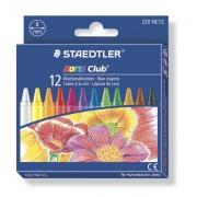 Creioane colorate cerate 12 culori/set STAEDTLER