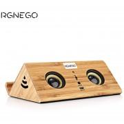 Audio- RGNEGO FYD - 918 Altavoz De Madera De-Amarillo
