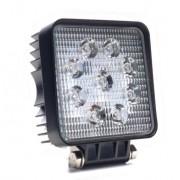 Munkalámpa 9 LED-es (110x110mm) 10-80V terítő fény