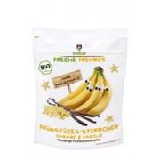 Cereale Stelute pentru Mic Dejun cu Banane si Vanilie Bio Erdbar 125gr