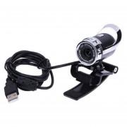Equipo USB HD 12 megapíxeles de cámara Web de MIC 360 grados el balanc