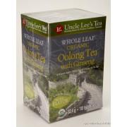 Oolong Ginseng Bio filteres Tea - Uncle Lee's