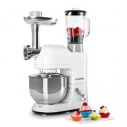 Klarstein Lucia Bianca Food Processor Mincer 1200W 5L