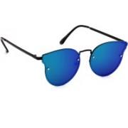 Eyeland Round Sunglasses(Blue, Green, Multicolor)