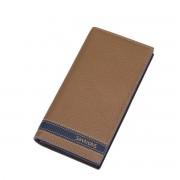 Velká pánská kožená peněženka na karty Sammons Big hnědá