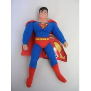 Justice League Superman 9 Plush Doll with Vinyl Head