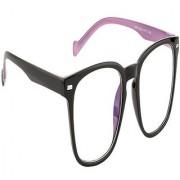 Arzonai Stag Wayfarer Black-Transparent UV Protection Sunglasses |Frame For Men & Women [MA-408-S2 ]