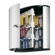 > Cassetta portachiavi da parete Key Box - 30,2x11,8x28 cm - 54 posti - grigio - Durable (unit