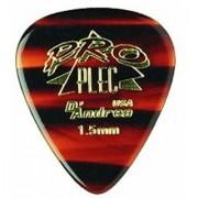 D'Andrea PPRO-351 Pro Plec 351 Standard Guitar Pick 12-Piece Shell 1.5mm